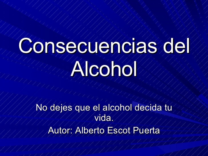 El tratamiento del alcoholismo uray