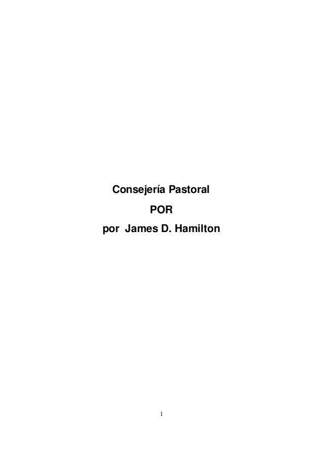 1 Consejería Pastoral POR por James D. Hamilton