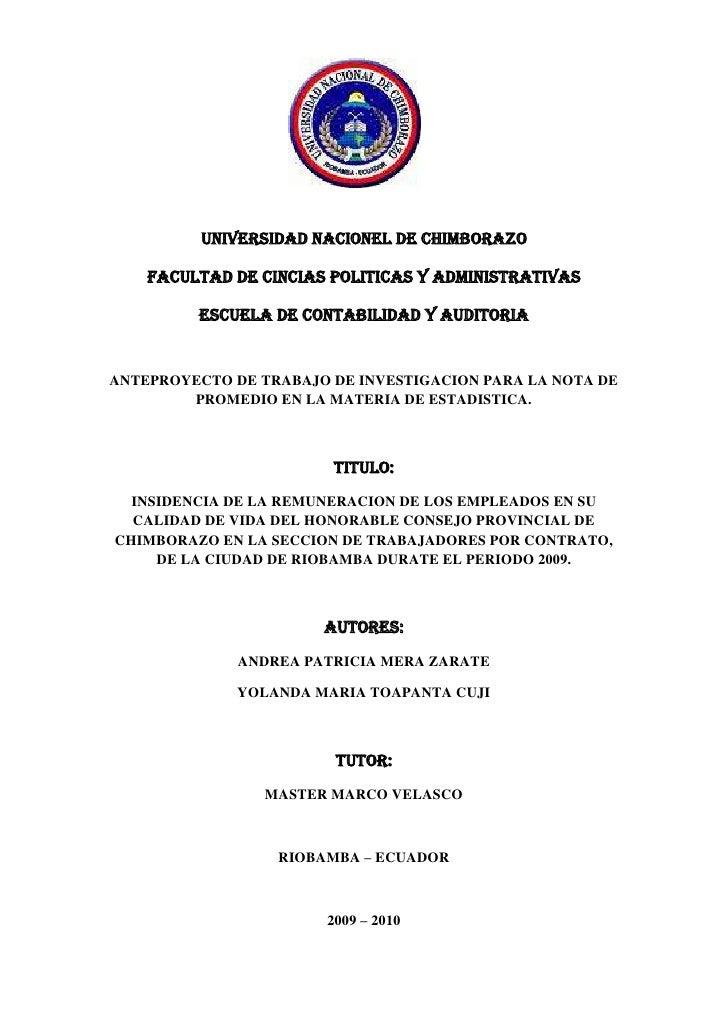 1920240-541020<br />UNIVERSIDAD NACIONEL DE CHIMBORAZO<br />FACULTAD DE CINCIAS POLITICAS Y ADMINISTRATIVAS<br />ESCUELA D...