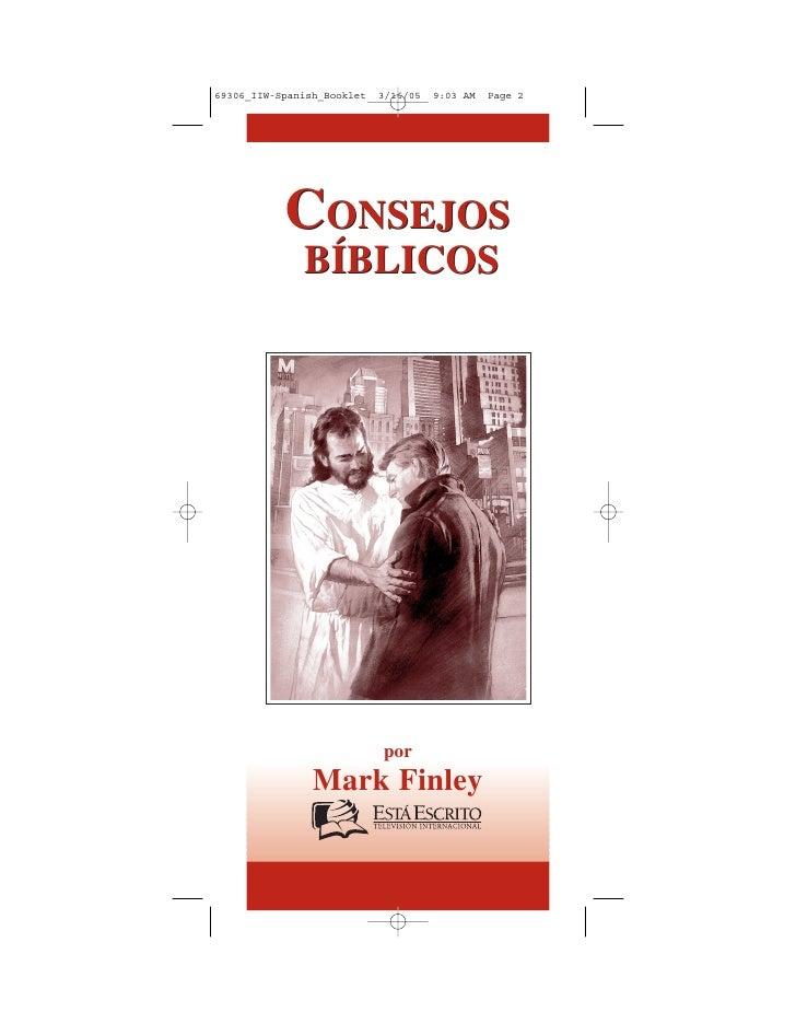 Consejos biblicos-mark-finley