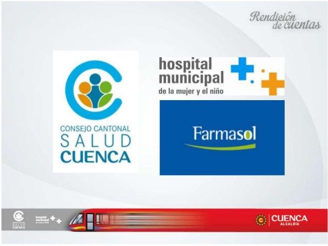 Alcalde Paúl Granda da informe de gestión de la red de Salud y FARMASOL