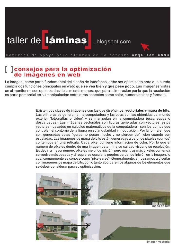 taller de láminas                                     . blogspot.com  material de apoyo para alumnos de la cátedra arq4·fa...