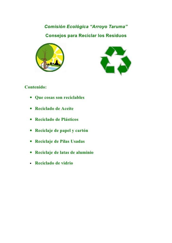Letreros de reciclaje letreros de reciclaje populares en letreros con reciclaje new style for - Consejos de reciclaje ...
