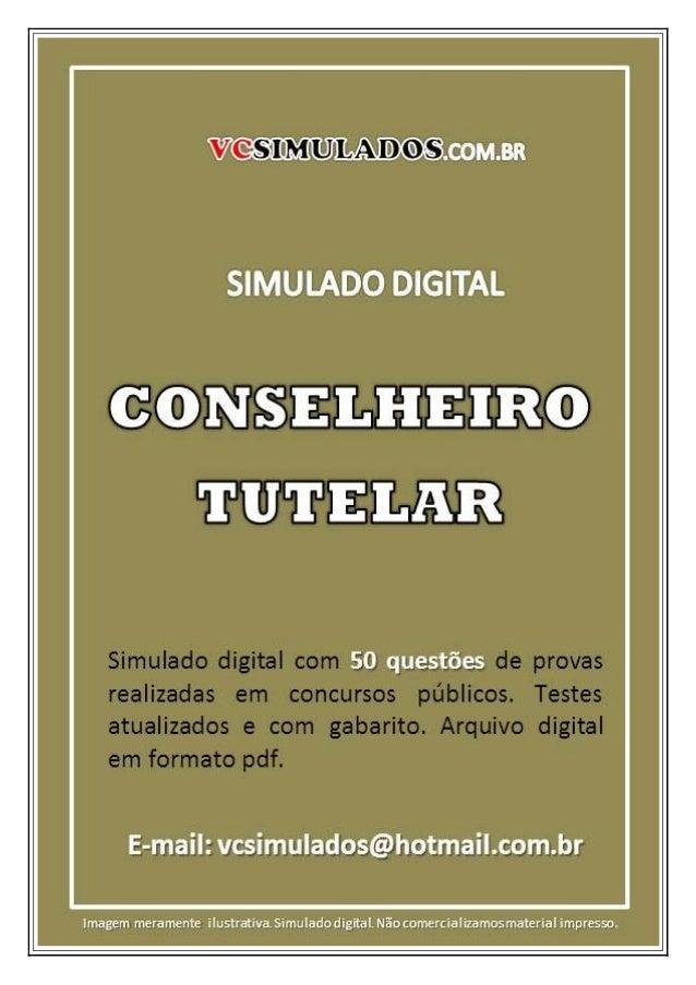 CONSELHEIRO TUTELAR - SIMULADO DIGITAL PARA CONCURSO PÚBLICO