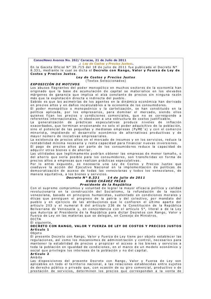 Conse news avance No 262