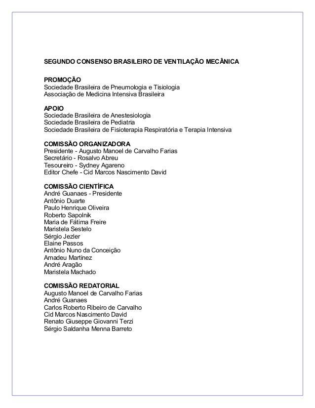Consenso ventilação mecânica (1)