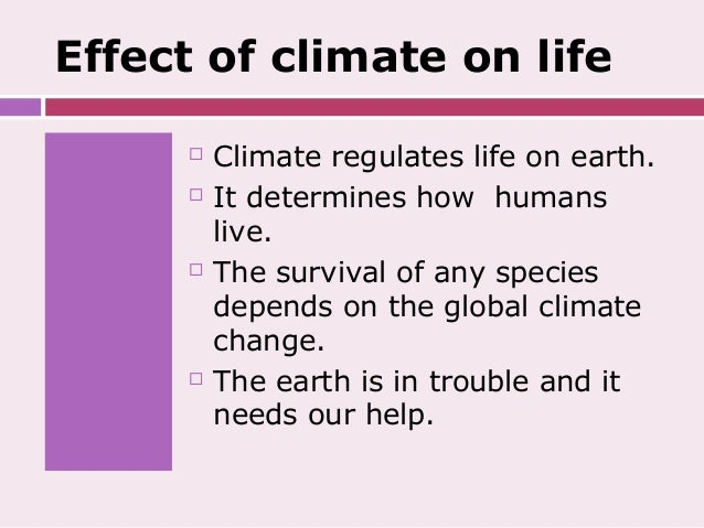 climate change research paper outline