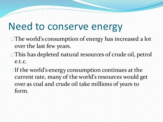 Conservation of energy for Facts about energy conservation