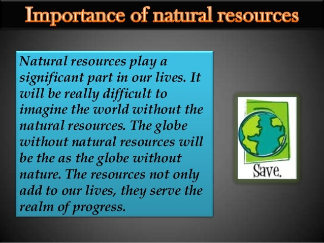 effect of growing population on natural resources pdf