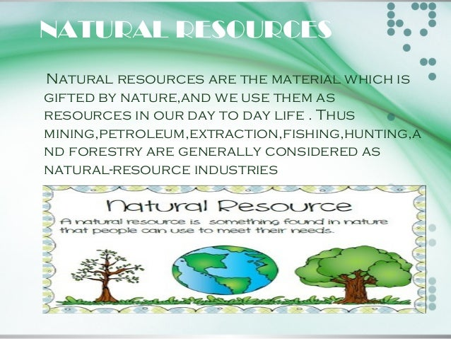 save natural resources essay What a waste of natural resources what needless  the water, mineral and  energy resources that could be saved 4 more bikes = more.
