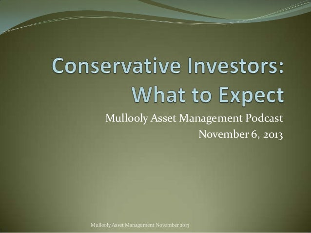 Mullooly Asset Management Podcast November 6, 2013  Mullooly Asset Management November 2013