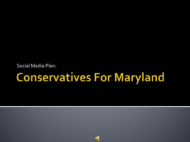 Conservatives for maryland(test)