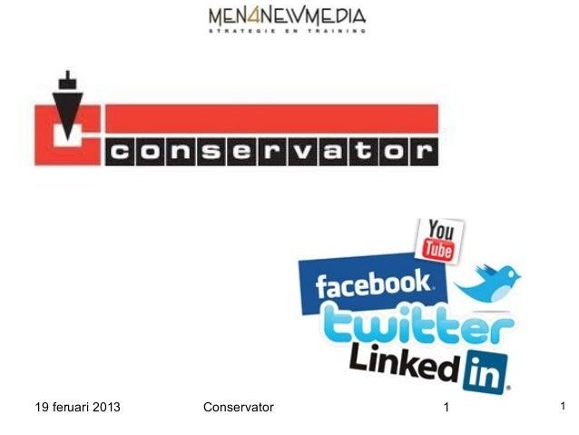 Conservator 19 02-2013