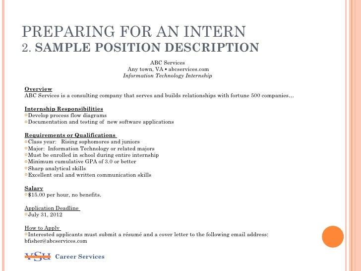 considering an internship program