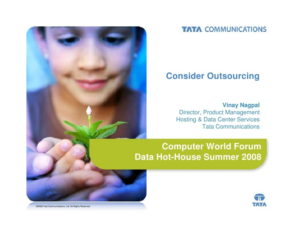 Consider Outsourcing