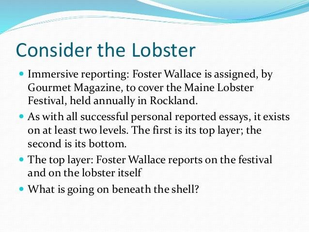 Consider The Lobster Rhetorical Analysis Essays - image 4