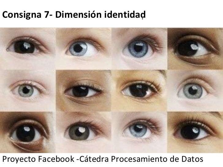 Proyecto Facebook -Cátedra Procesamiento de Datos   Consigna 7- Dimensión identidad 