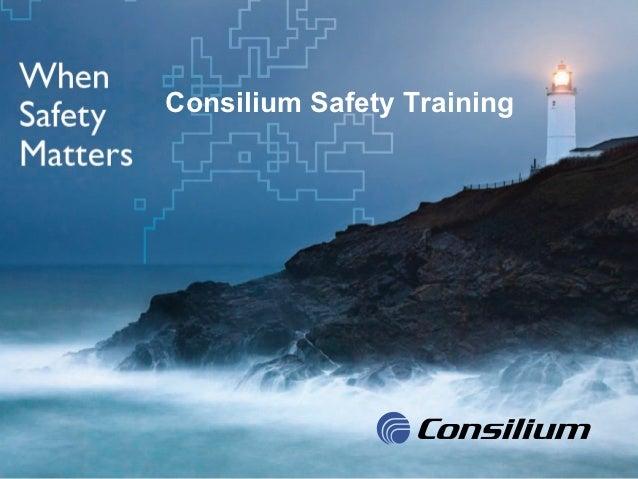 Consilium Marine & Safety AB                               Consilium Safety TrainingQNL2010-133 R1, 2010-12-14