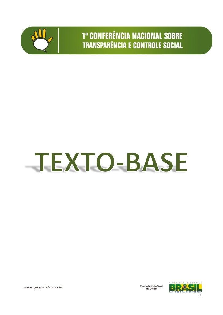 Consocial texto base