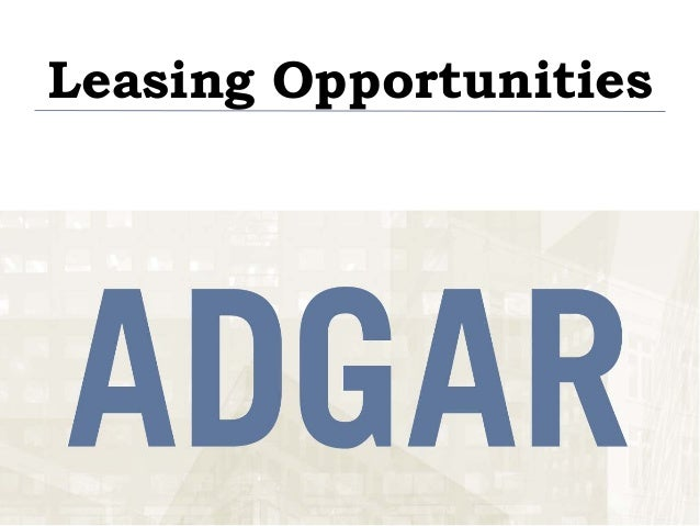 Adgar - Consolidated+availabilities+ +may+2013