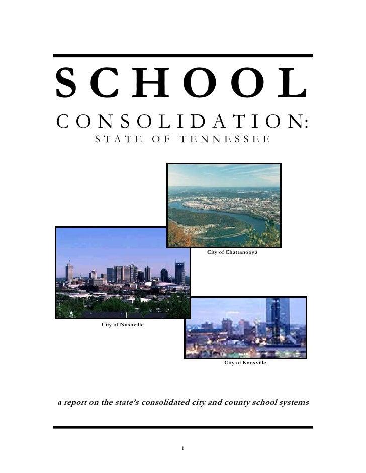 Consolidation study 1