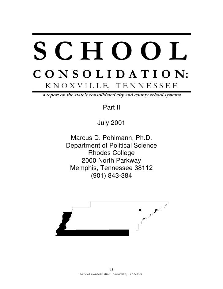Consolidation study 2