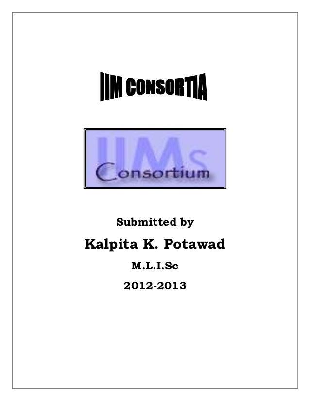 Submitted byKalpita K. Potawad      M.L.I.Sc     2012-2013
