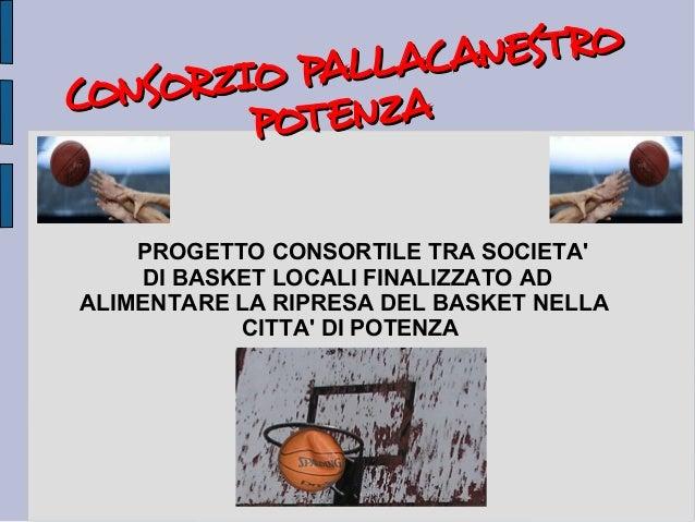 Consorzio pallacanestro Potenza