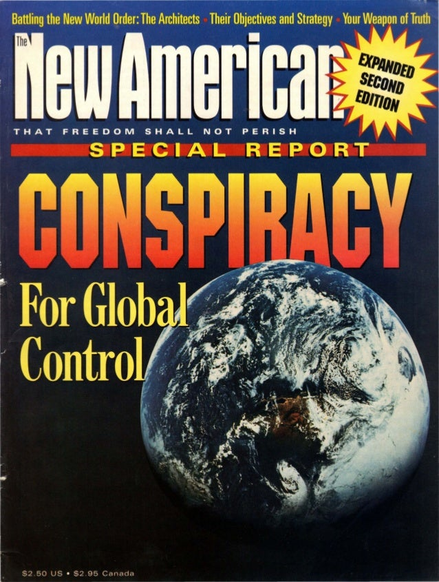 Conspiracy For Global Control - The New American Magazine