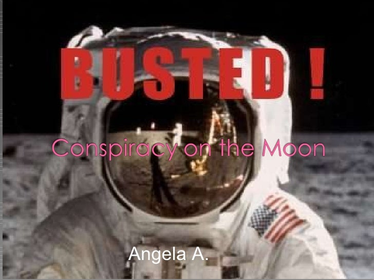 Conspiracy On The Moon Powerpoint