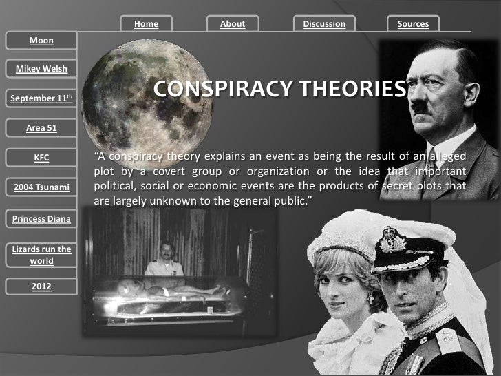 Conspiracy theories presentation