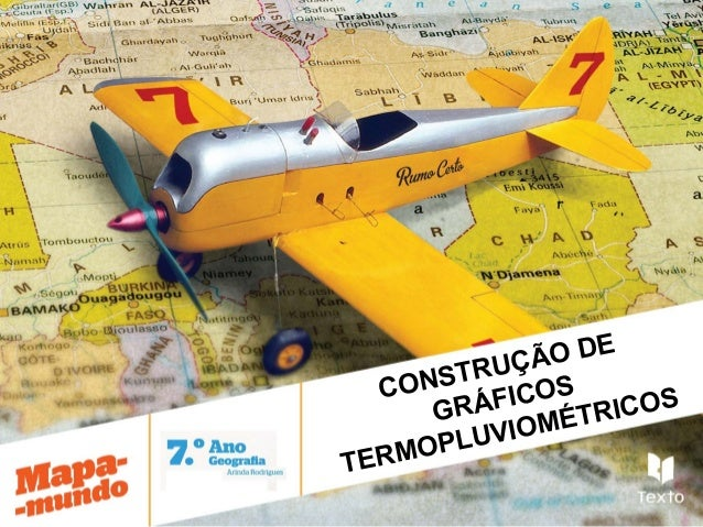CONSTRUÇÃO DEGRÁFICOSTERMOPLUVIOMÉTRICOS