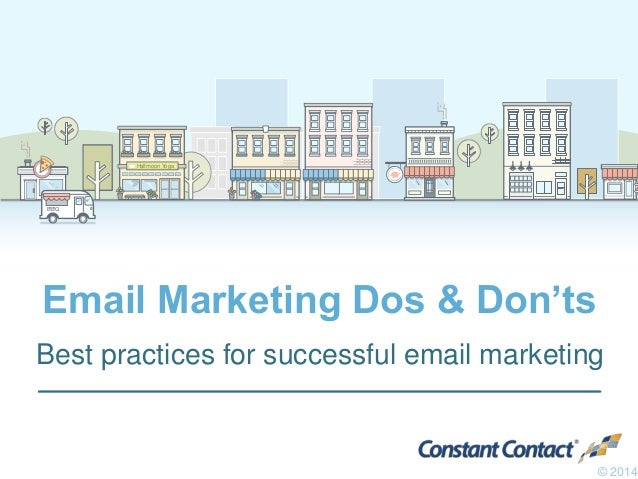 Halfmoon YogaHalfmoon Yoga B•B•Q Email Marketing Dos & Don'ts Best practices for successful email marketing © 2014