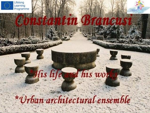 Constantin Brancusi   the greatest romanian sculptor