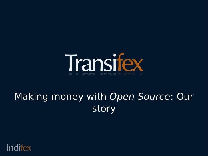 Constantinos bairaktaris- Making money with open source