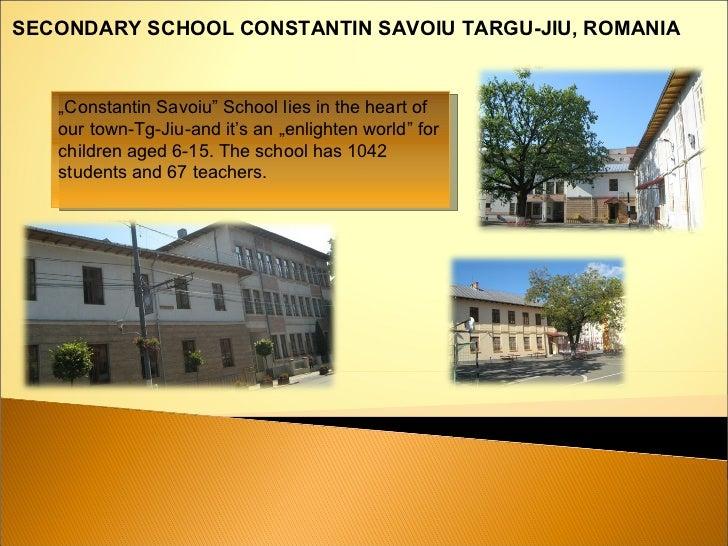 Constantin Savoiu School   Romania