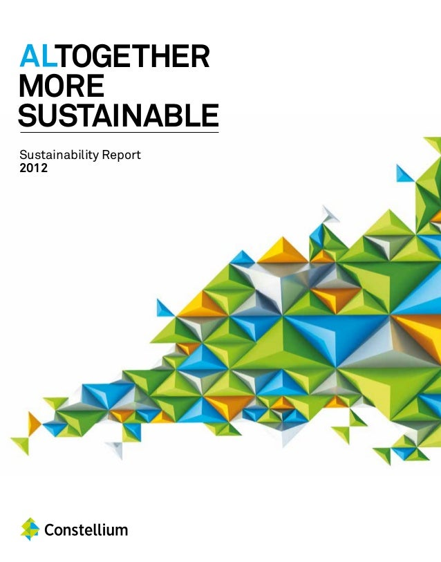 ALTOGETHER MORE SUSTAINABLE Sustainability Report 2012