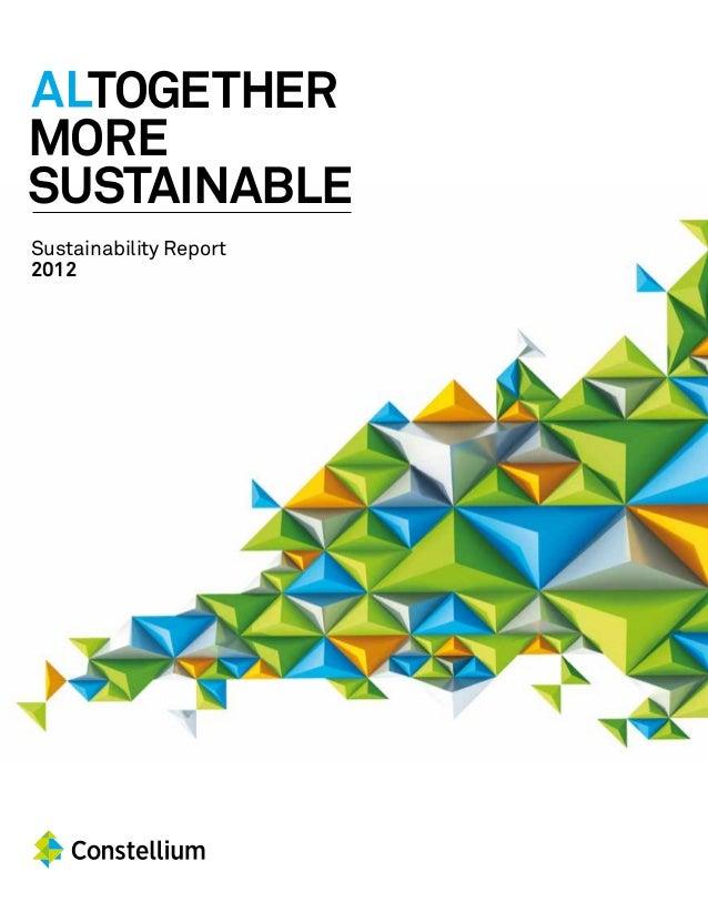 Constellium Sustainability Report 2012