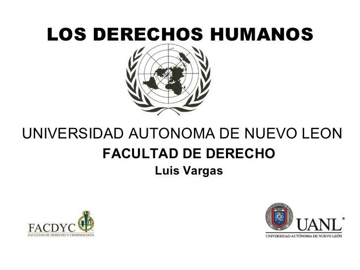 Los Derechos Humanos en la Constitucion Mexicana