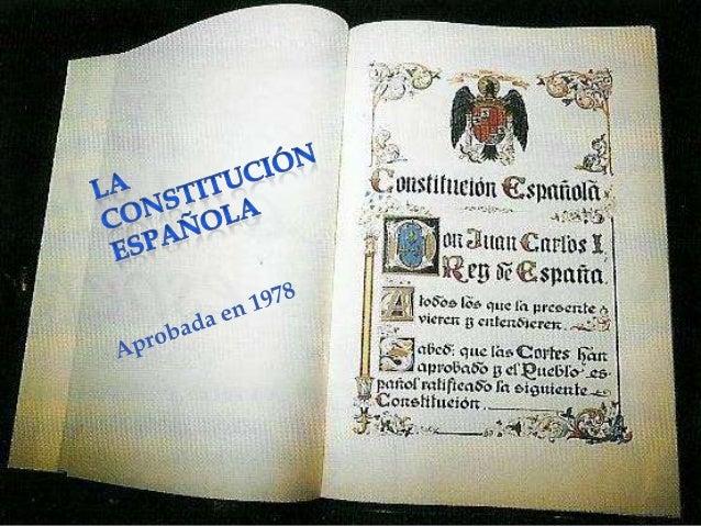 Aprobada por Las Cortes en sesiones plenarias del congreso de los diputados y del senado celebradas el 31 de octubre de 19...