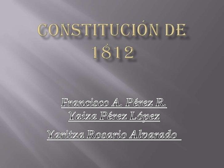 En plena guerra de independencia, la JuntaCentral convocó a las Cortes Generales, quese reunieron en Cádiz por ser la únic...