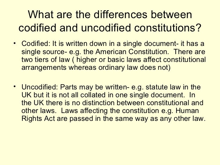 the need for a constitution essay