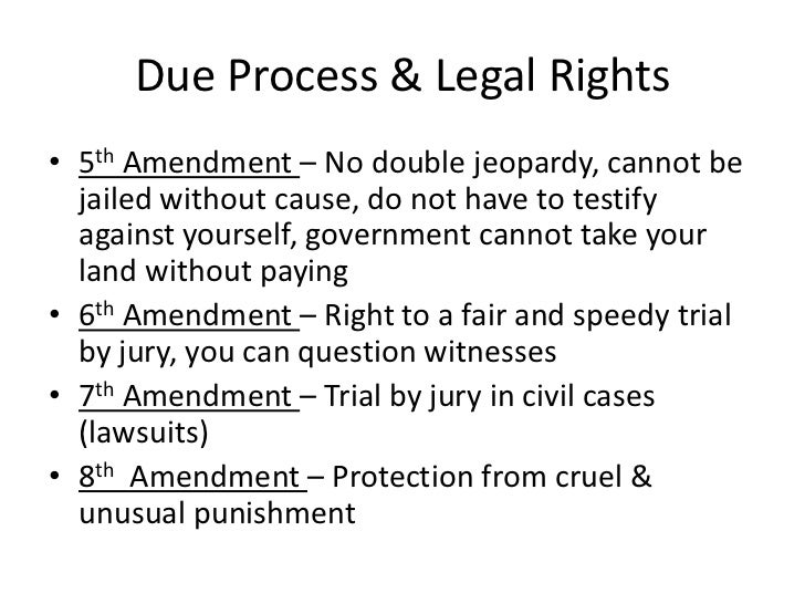 fourth fifth sixth and fourteenth amendments Bill of rights first amendment [religion fourth amendment [search and seizure (1791)] (see explanation) fifth amendment [grand jury.