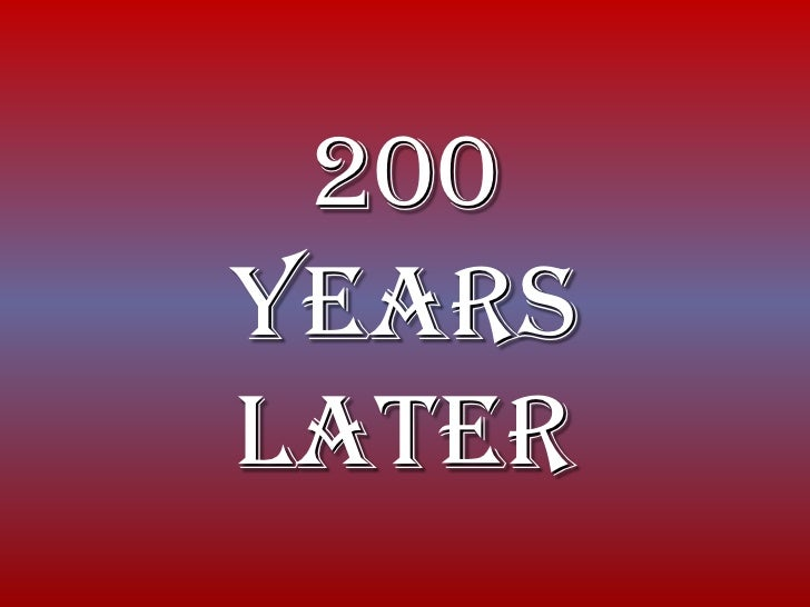 200YearsLater<br />