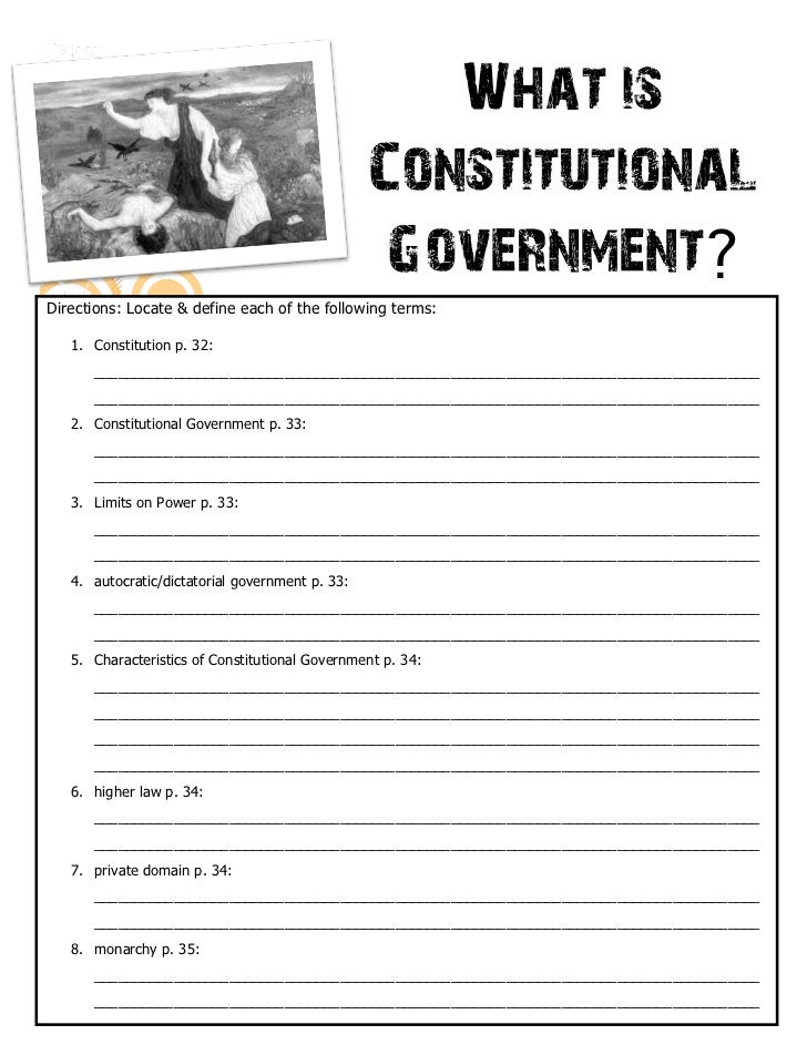 Constitutional Gov - Antigone