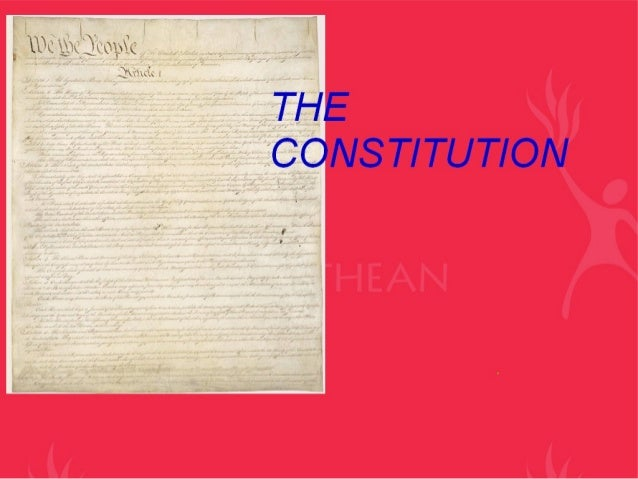 Constitution i and ii