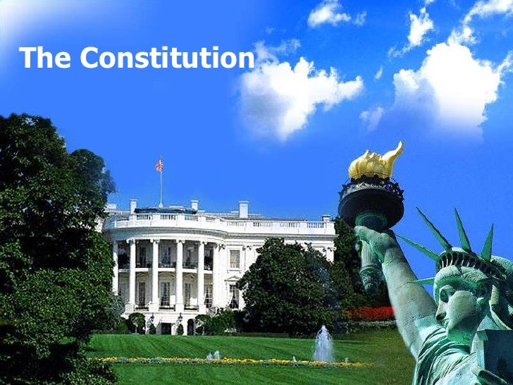 The Constitution <br />