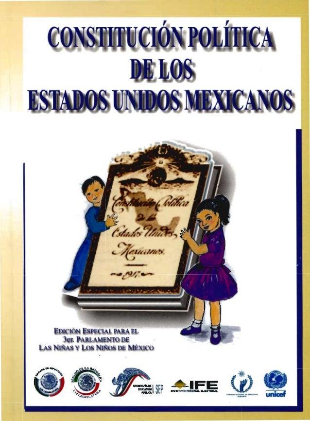 Constitución Política de México para niños Gwyneth Paltrow