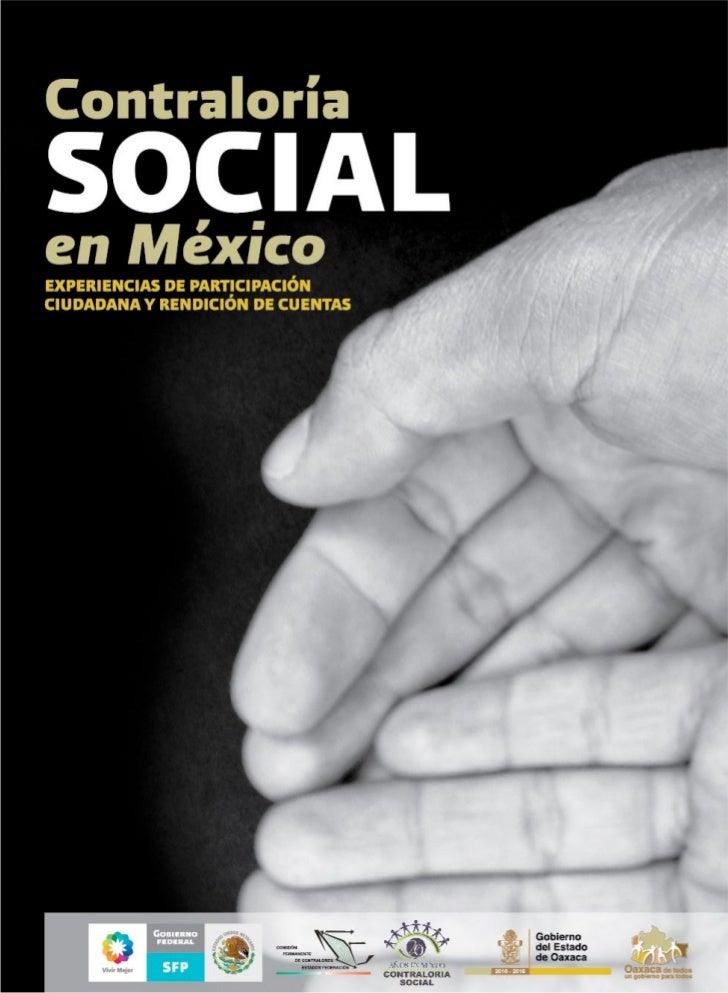 Constraloría Social en México