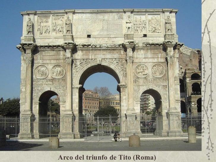 Arco Gas >> Construcciones Romanas Y Griegas